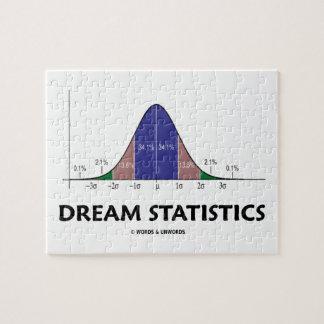 Dream Statistics (Bell Curve Humor) Puzzle