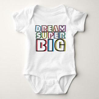 Dream Super Big Baby Bodysuit