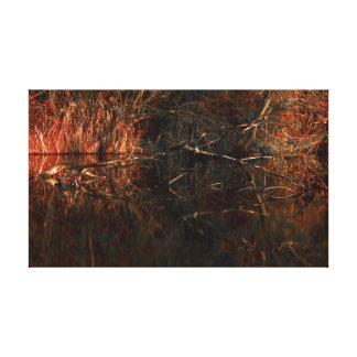 dream swamp canvas print