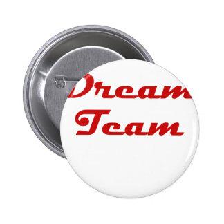 Dream Team 2 Inch Round Button