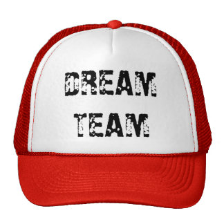 DREAM TEAM MESH HATS