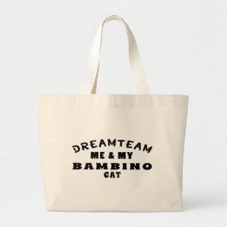 Dream Team Me And My Bambino Cat Tote Bag