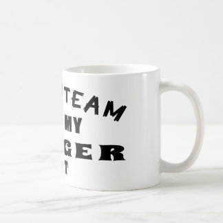 Dream Team Me And My Toyger Cat Coffee Mugs