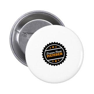 dream team pinback button