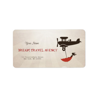 Dream Travel Agency Label