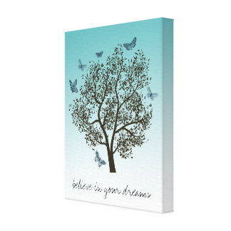Dream Tree Stretched Canvas Print