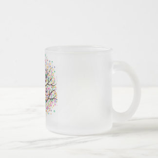 Dream Tree Frosted Glass Coffee Mug