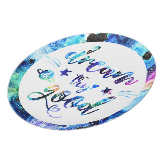 Dream. Try. Do Good. Melamine Plate