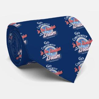 Dream Typography Inspirational Tie
