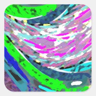 Dream Valley : Graphic  Art Square Sticker