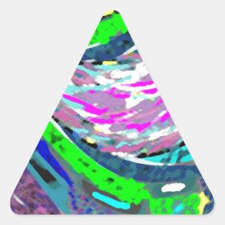 Dream Valley : Graphic  Art Triangle Sticker