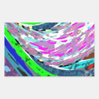 Dream Valley : Graphic  Art Rectangular Sticker