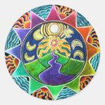 Dream Vision Mandala Sticker
