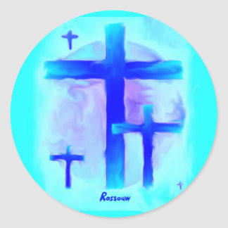 Dream Visions by Rossouw Classic Round Sticker