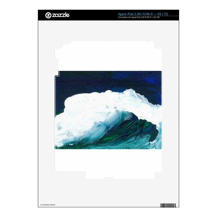 Dream Wave - CricketDiane Ocean Wave Art Decals For iPad 3
