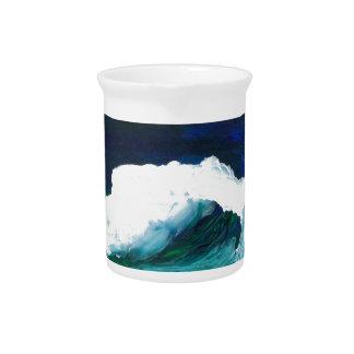 Dream Wave - CricketDiane Ocean Wave Art Beverage Pitcher