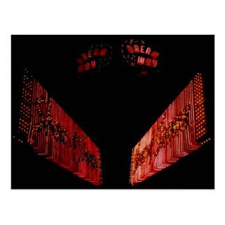 Dream Way, Vintage Cicero Il. Neon Sign Post Card