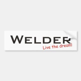Dream / Welder Bumper Sticker