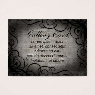 Dream Within A Dream Coordinates Business Card
