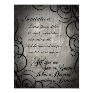 Dream Within A Dream Coordinates Personalized Announcements