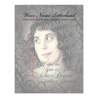 Dream Within A Dream Coordinates Letterhead