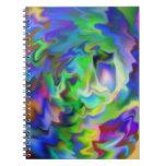 Dream World Spiral Notebooks