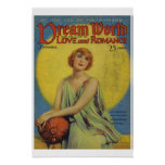Dream World Vintage Magazine Cover Poster