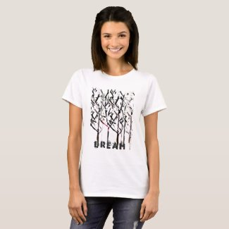 Dream-y T-Shirt with Tree Design