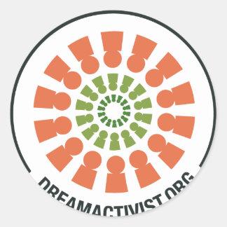DreamActivist Pegatina