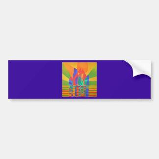 Dreamboat (Square) Bumper Sticker