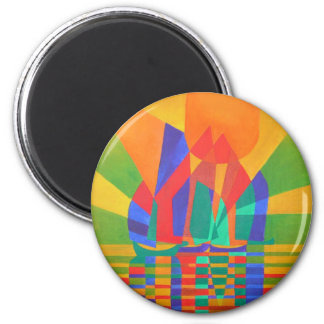 Dreamboat (Square) Magnet