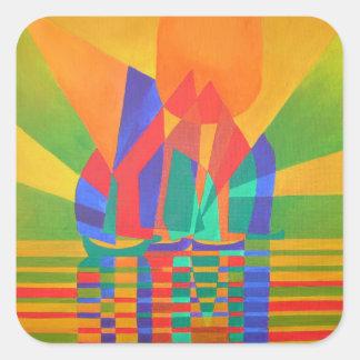 Dreamboat (Square) Square Sticker