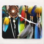 Dreamcatcher and Feathers Mouse Pad