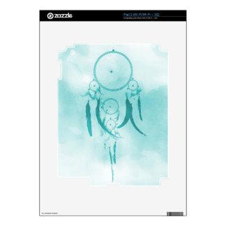 Dreamcatcher Aqua Decal For iPad 2