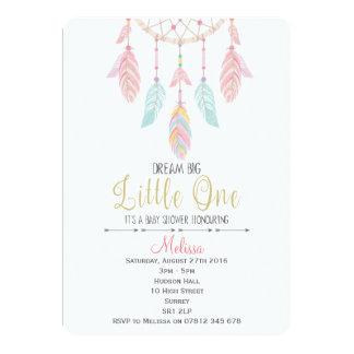 Dreamcatcher Baby Shower Invitation