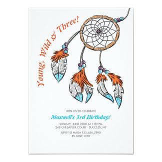 Dreamcatcher Birthday Invitation