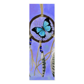 Dreamcatcher Bookmark Double-Sided Mini Business Cards (Pack Of 20)