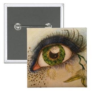 Dreamcatcher Eye Badge Pinback Button