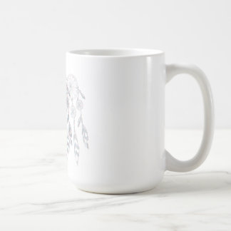 Dreamcatcher Fade Classic White Coffee Mug