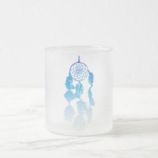 Dreamcatcher Frosted Glass Coffee Mug