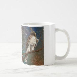 Dreamcatcher Hawk cup Classic White Coffee Mug