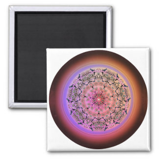 Dreamcatcher Mandala - Multiple Products 2 Inch Square Magnet