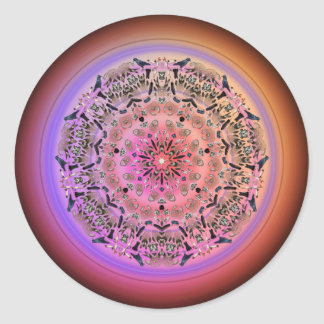 Dreamcatcher Mandala - Multiple Products Classic Round Sticker