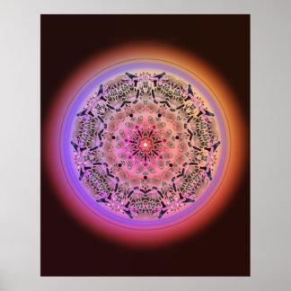 Dreamcatcher Mandala - Pick-A-Size Poster