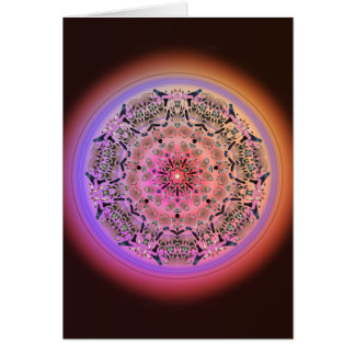 Dreamcatcher Mandala with Love Quote - Gift Card