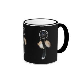 Dreamcatcher Ringer Coffee Mug