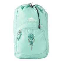 Dreamcatcher Native American Turquoise Backpack