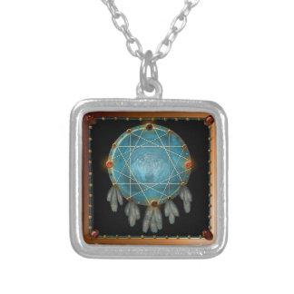 Dreamcatcher Necklace - Wolf in the wild -Native