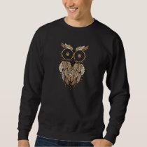 dreamcatcher owl sweatshirt