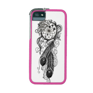 dreamcatcher with hearts and flowers cell phone ca iPhone 5/5S case